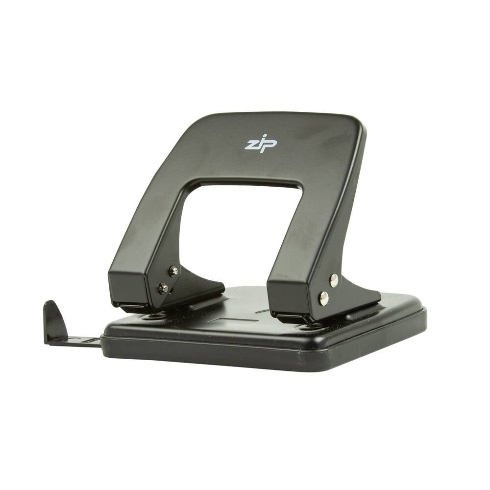 Q Connect Std Duty Hole Punch Black -((V))