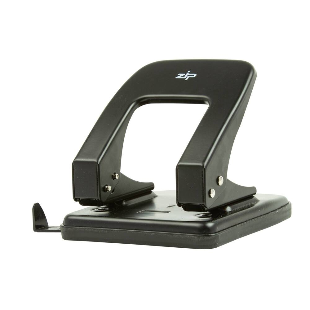 Q Connect Heavy Duty Hole Punch Black -((V))
