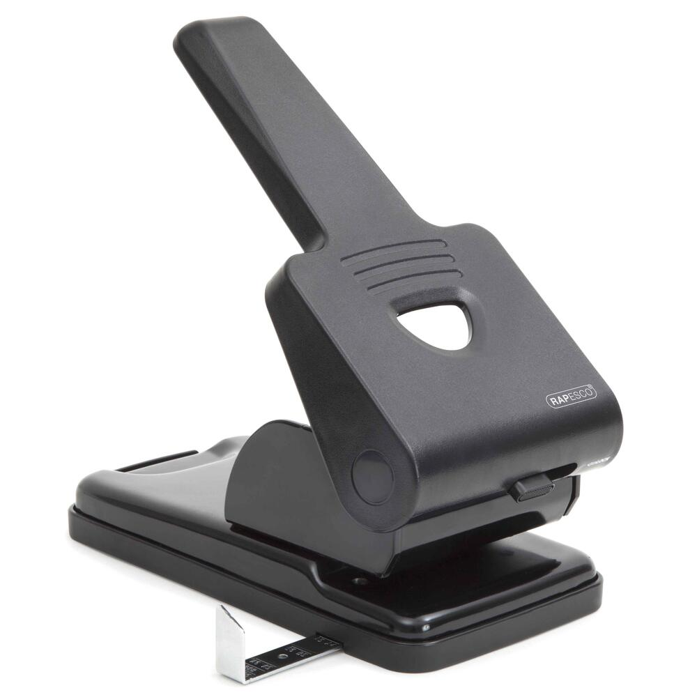 Q Connect Xheavy Duty Hole Punch Black -((V))