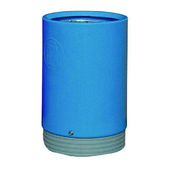 Outdoor Open Top Bin 75 Litre Blue