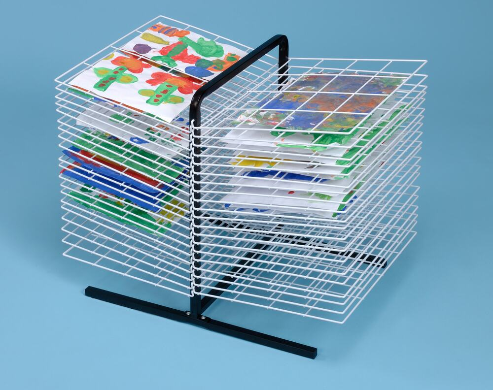 Double Sided Drying Rack 40 Shelf