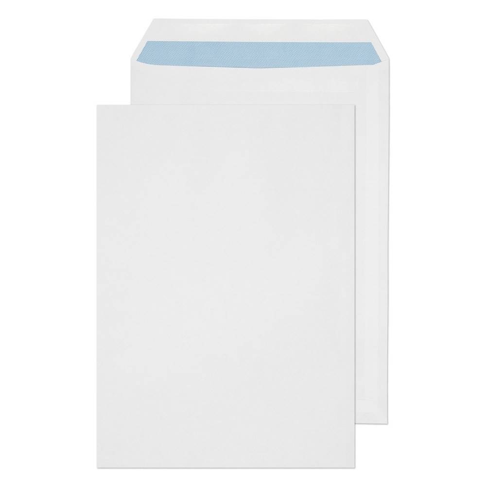C4 Non-Window Pocket Self Seal Envelopes White 90gsm
