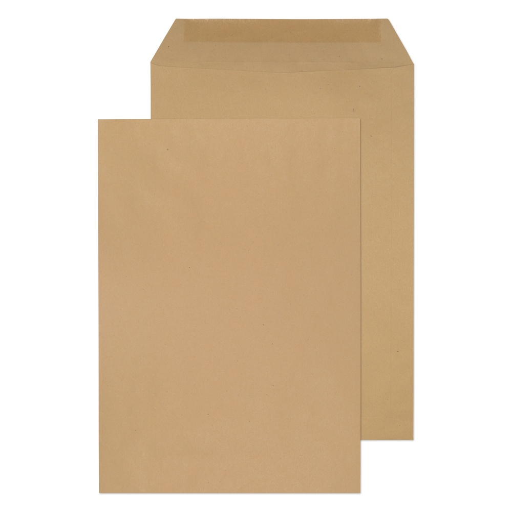 C4 Non-Window Pocket Gummed Envelopes Manilla 90gsm