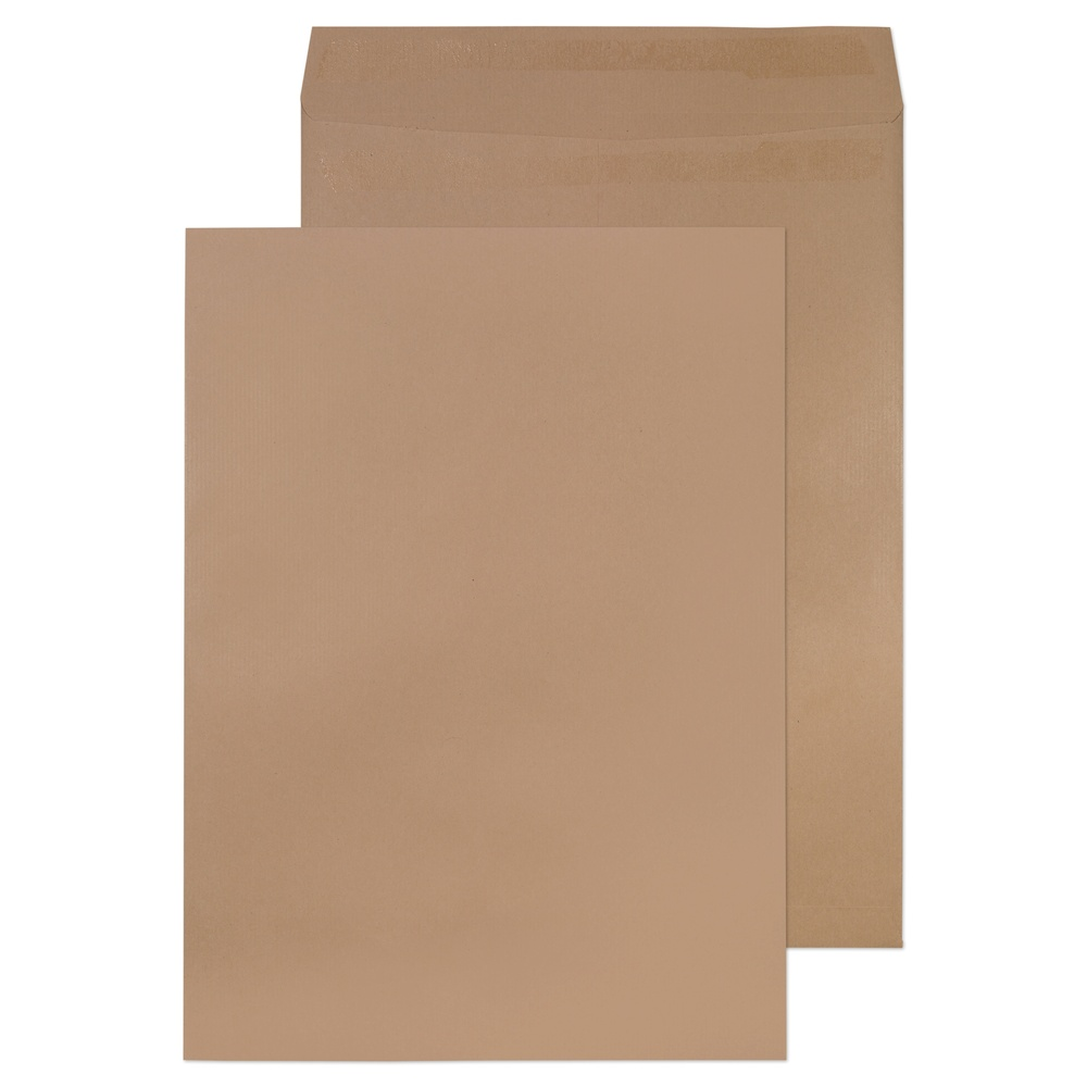 C3 Non-Window Pocket Self Seal Envelopes Manilla 115gsm