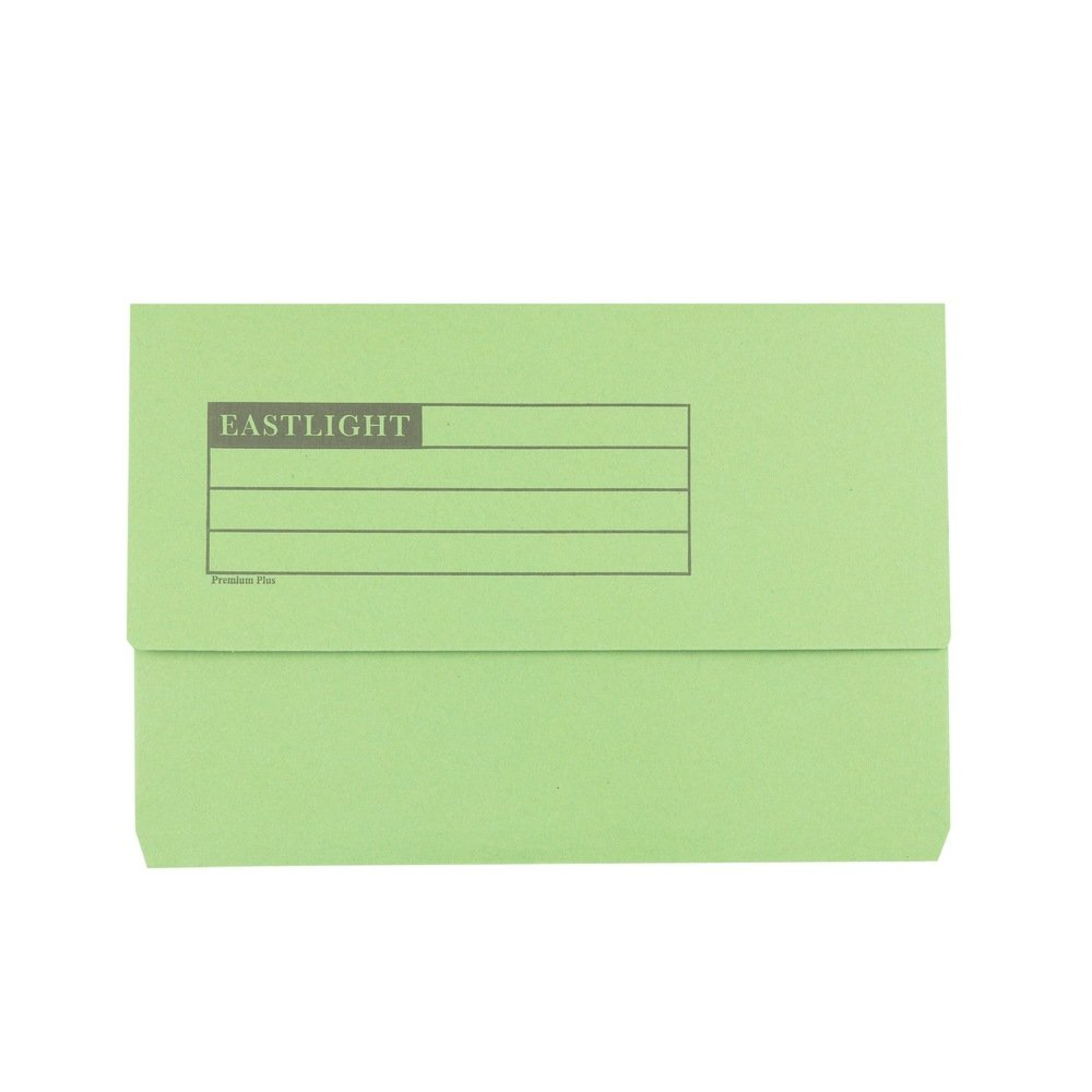 Premium Document Wallets Green