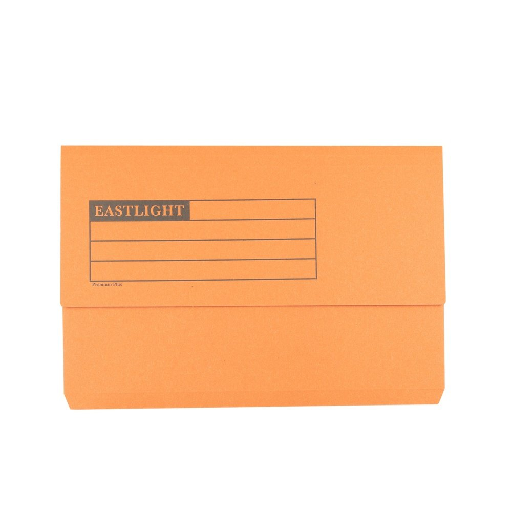Premium Document Wallets Orange
