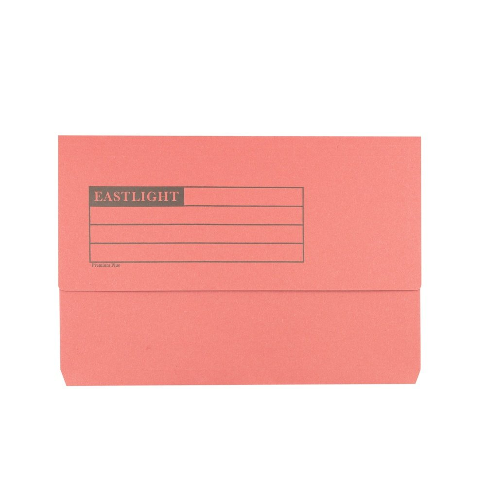 Premium Document Wallets Red