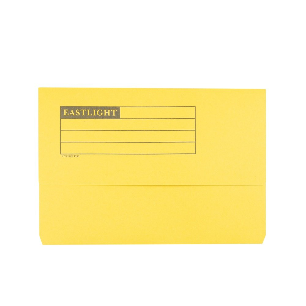 Premium Document Wallets Yellow