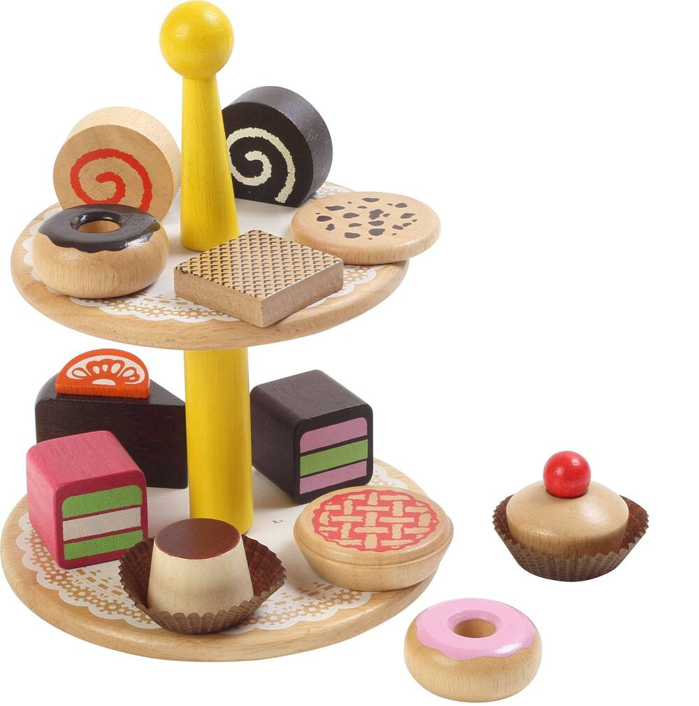 Wooden Pastries Set - Set of 12 ***WHILE STOCKS LAST***