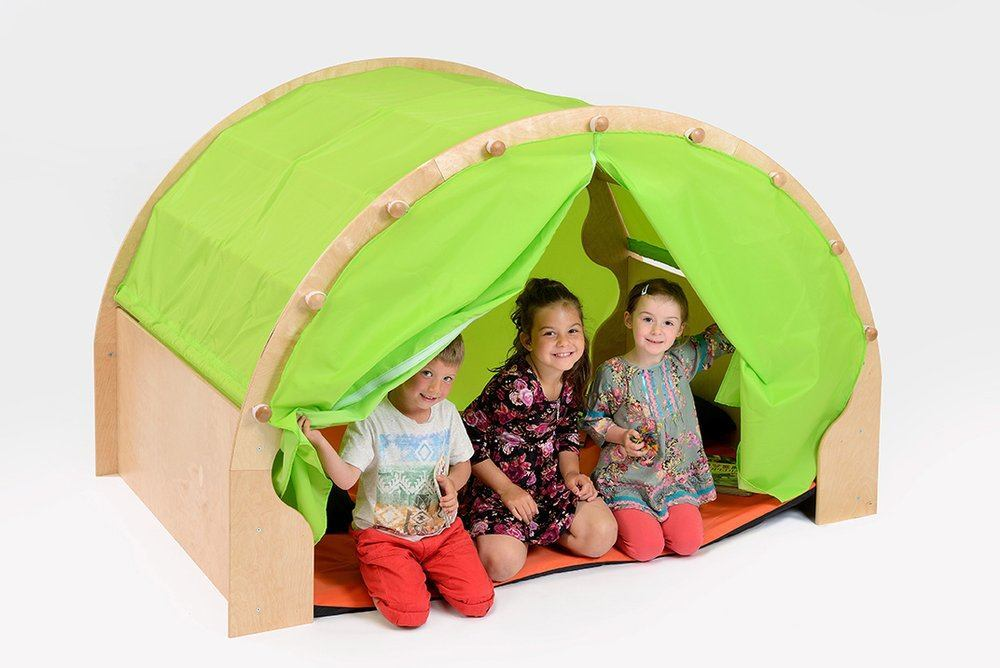 Play Pods - Set 1: Play Pod & Canopy & 2 Sets of Curtains