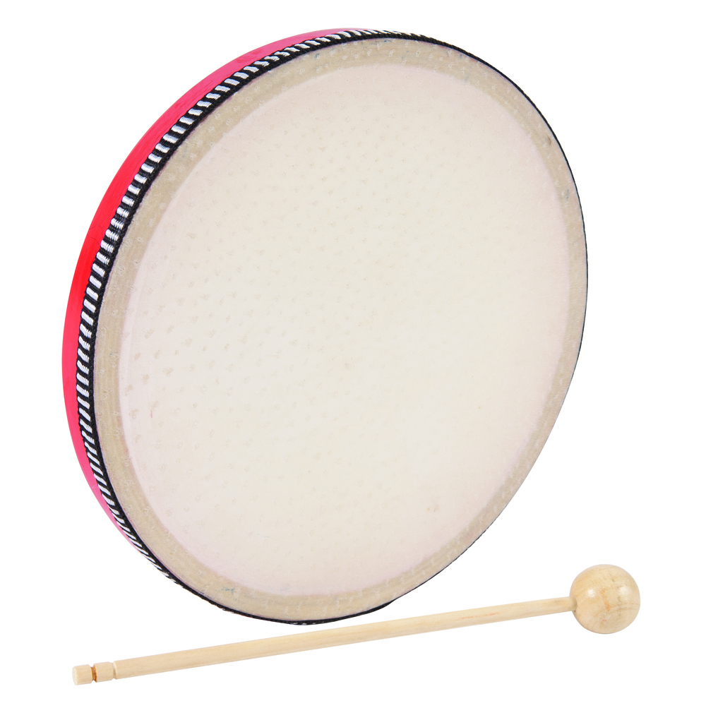 Hand Drum - 20cm Red
