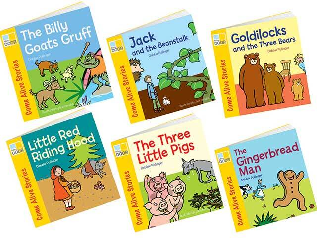 Traditional Tales Storybook Set - Set of 6