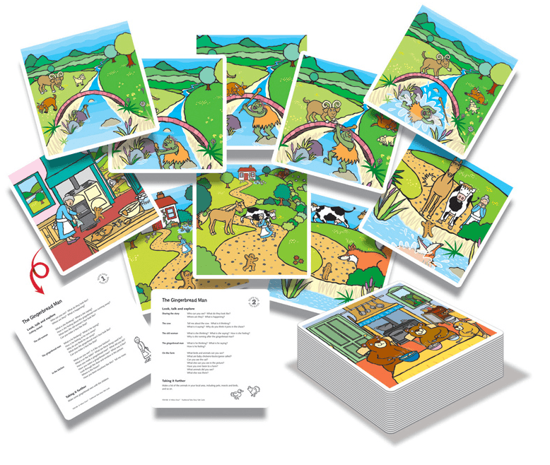 Traditional Tales Story Talk Cards - Set of 30