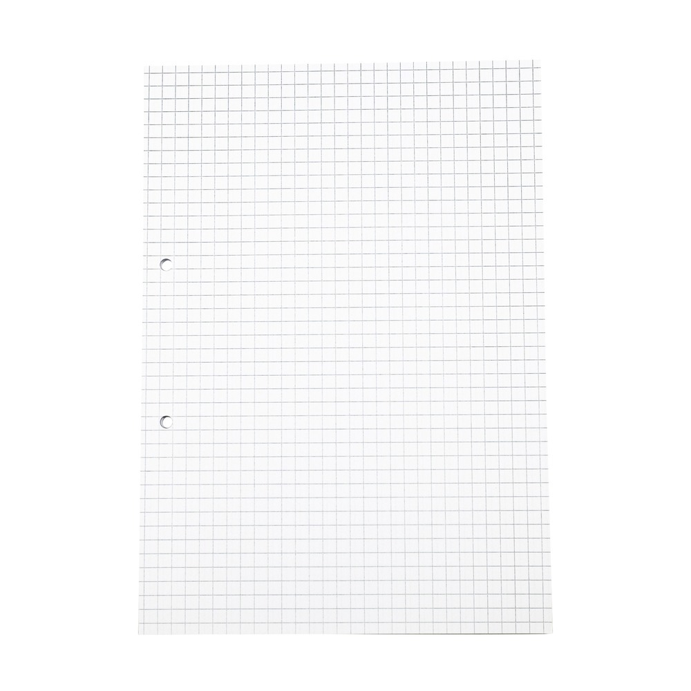 Exercise Paper A4 7mm Squared 2 Hole Punched