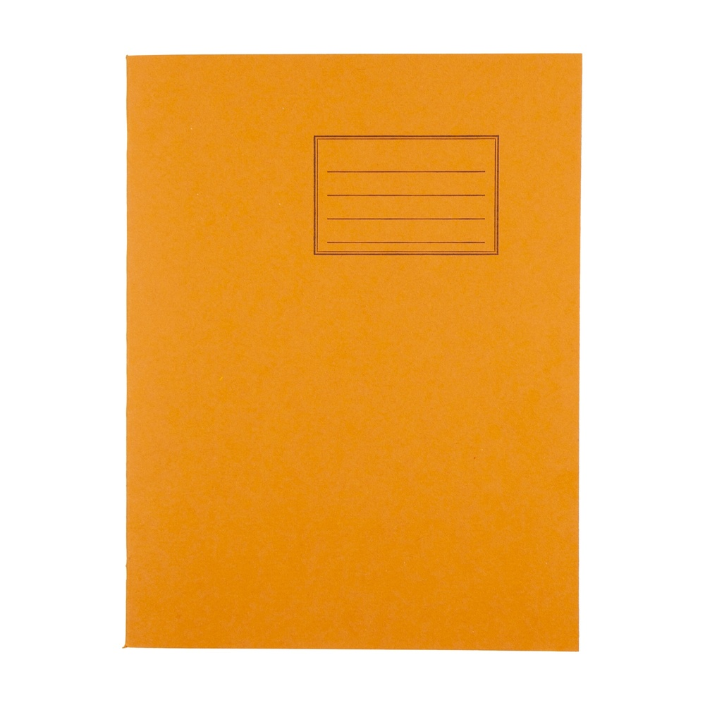 Exercise Books 9 X 7 80 Page 5mm Squared Orange