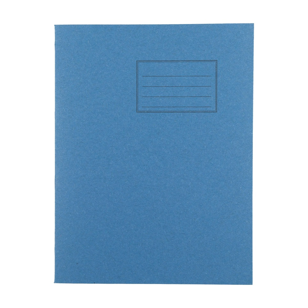 Exercise Books 9 X 7 80 Page 5mm Squared Light Blue
