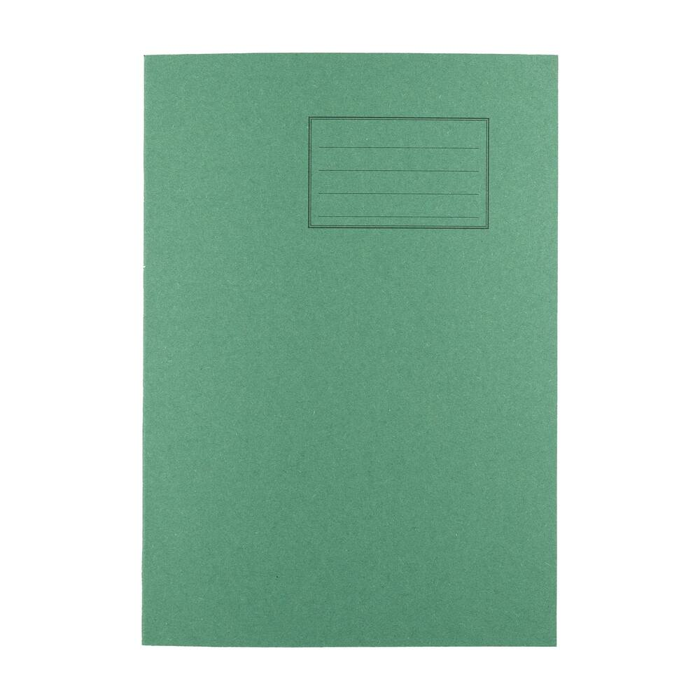 Exercise Books A4 80 Page 8mm F&M Dark Green