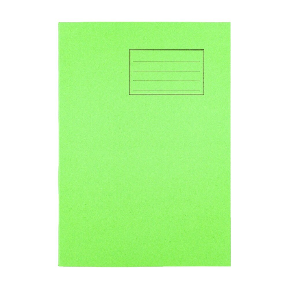Exercise Books A4 80 Page 8mm F&M Light Green