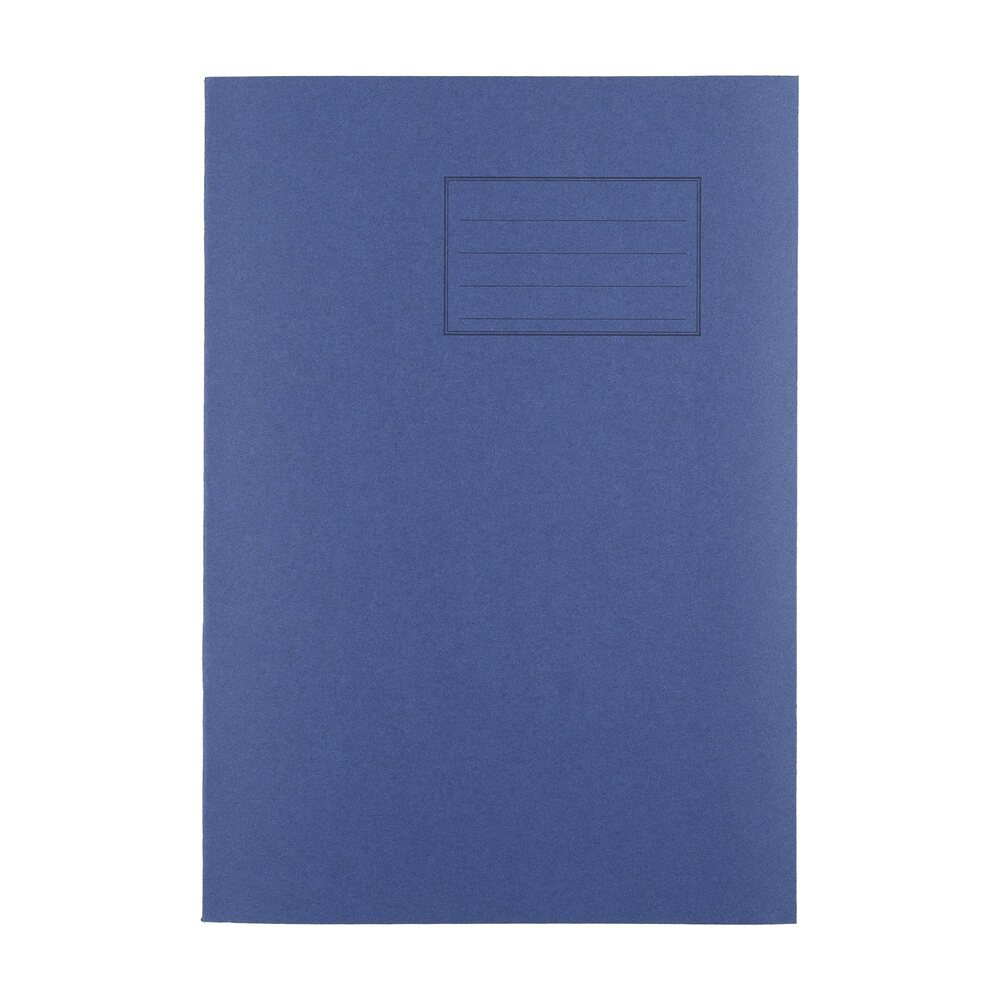 Exercise Books A4 80 Page 8mm F&M Dark Blue