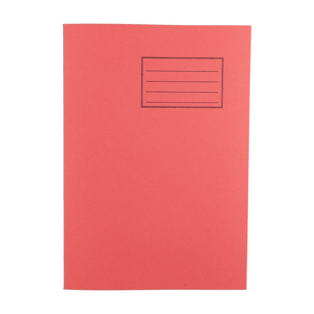 Exercise Books A4 64 Page 8mm F&M Red