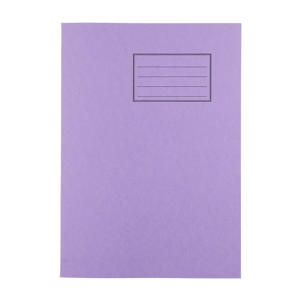 Exercise Books A4 64 Page 8mm F&M Purple