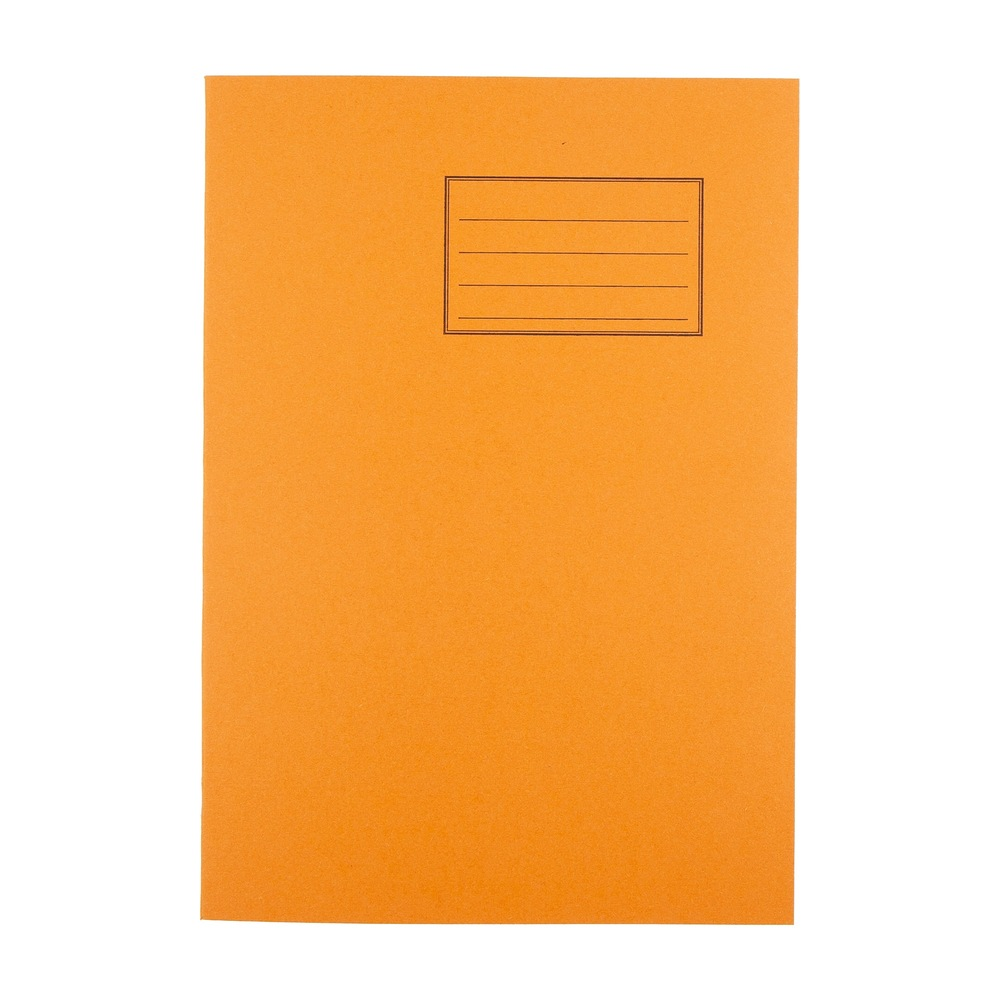 Exercise Books Economy A4 60 Page 60gsm 5mm Squared Orange  ***WSL***
