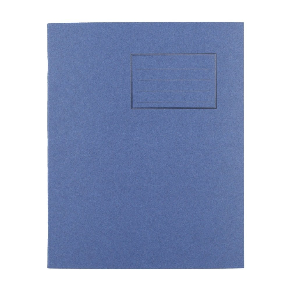 Exercise Books 8 X 6.5 48 Page 8mm F&M Dark Blue