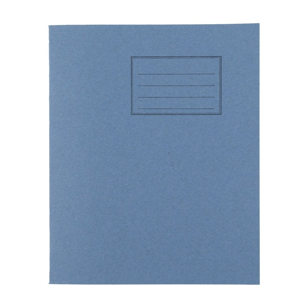 Exercise Books 8 X 6.5 48 Page 8mm F&M Light Blue