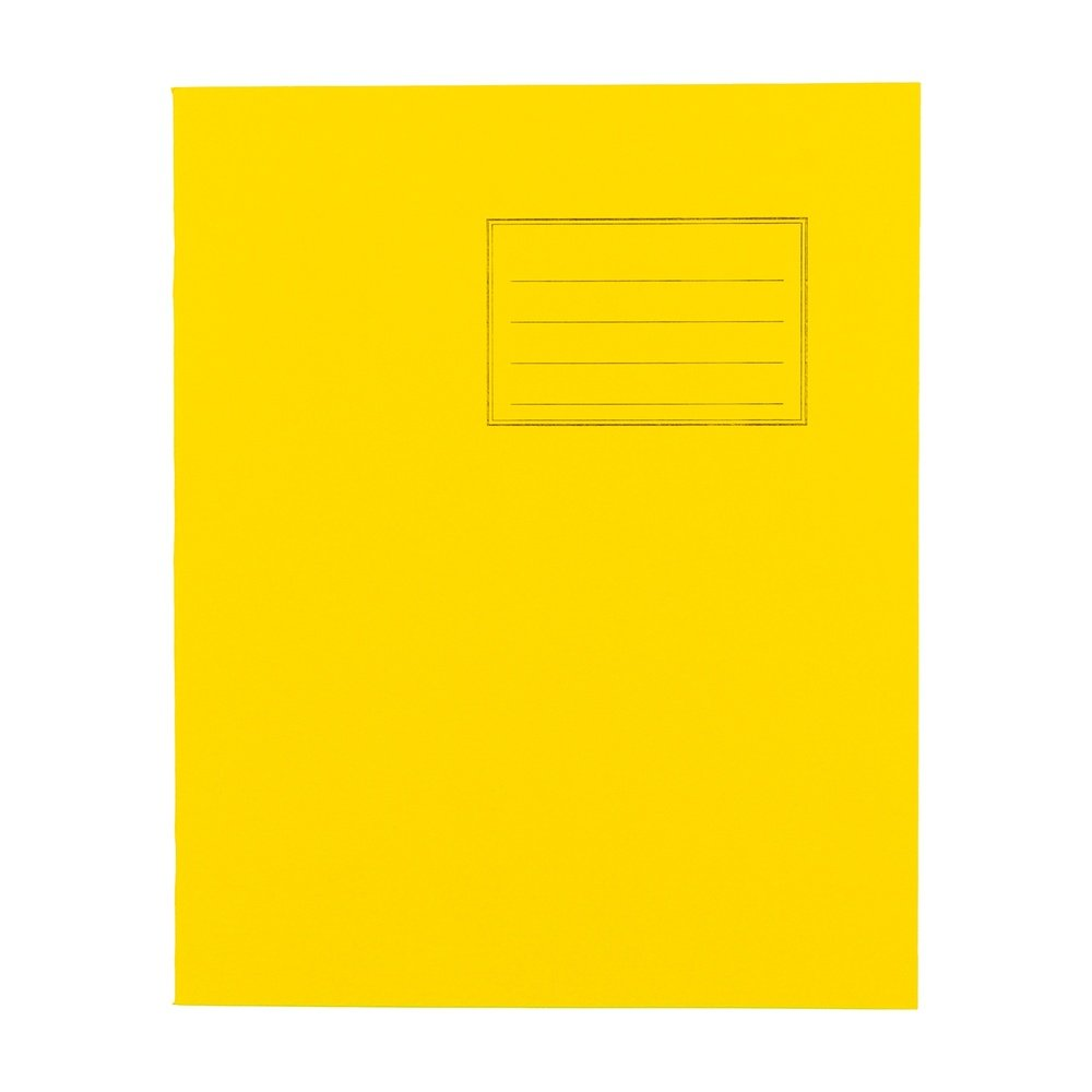 Exercise Books 8 X 6.5 80 Page 8mm F&M Yellow