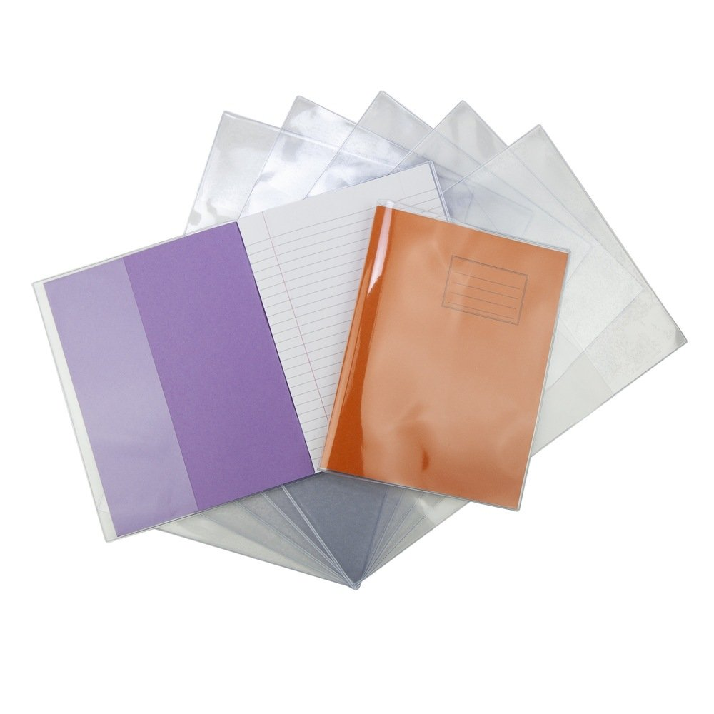 9 X 7 Extra Heavy Duty 240 Micron Exercise Book Covers