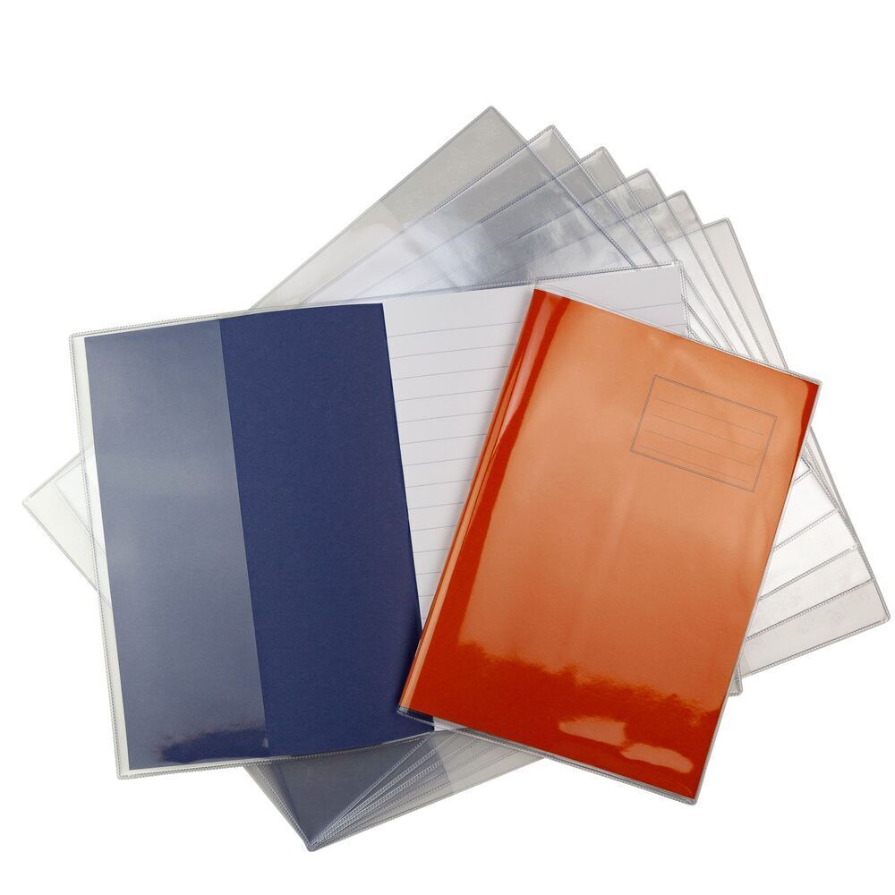 A4 Extra Heavy Duty 240 Micron Exercise Book Covers