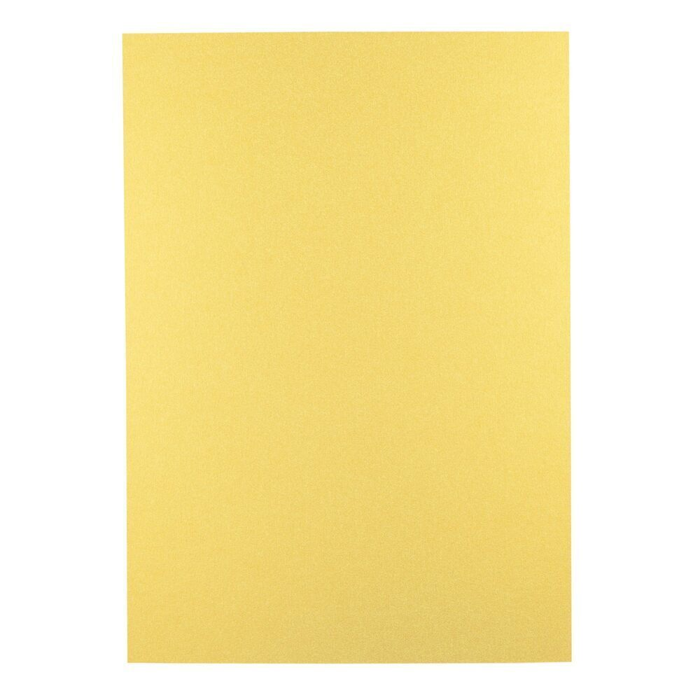 Georama Metallics A4 285gsm Gold