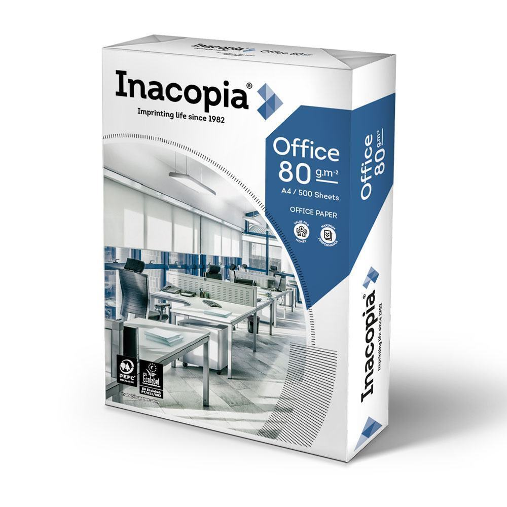 Inacopia Office Copier A4 80gsm White Paper