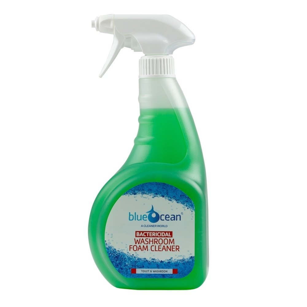 BlueOcean Washroom Cleaner 750ml (2x Trigger Spray Heads Only)