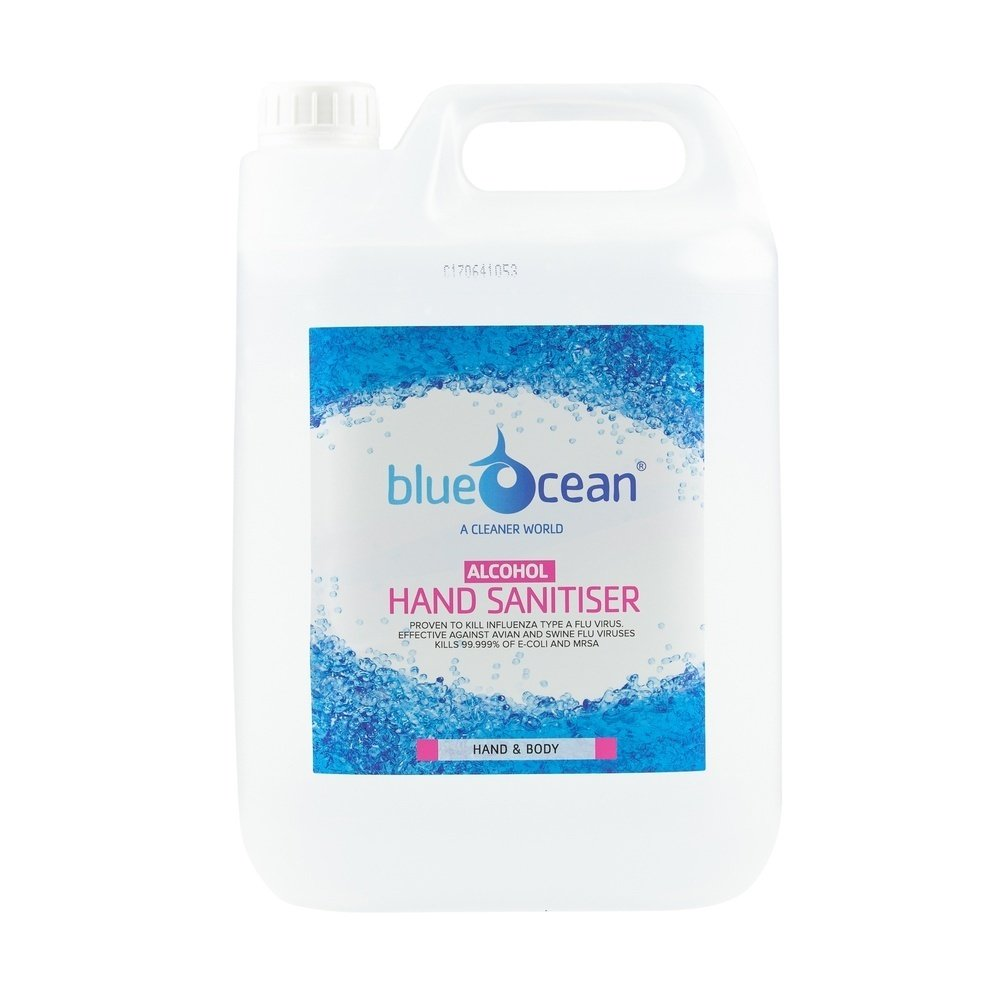 BlueOcean Alcohol Gel Hand Sanitiser 5L
