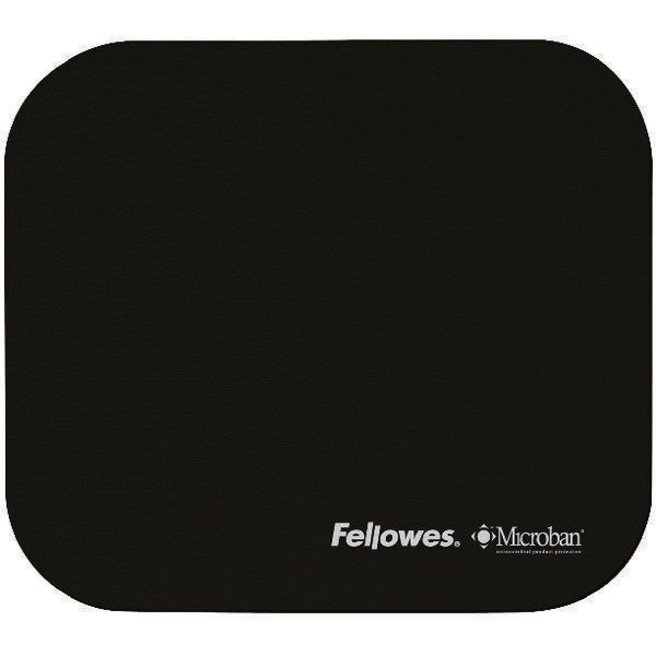 Microban Mouse Mat Black.