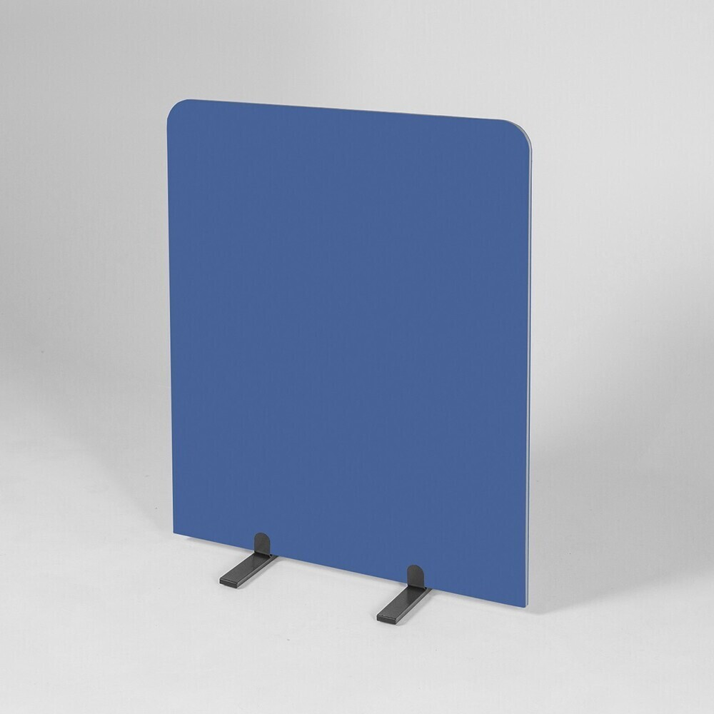 BusyScreen Curve screen - 1200 x 1000mm (HxW) - Light Blue