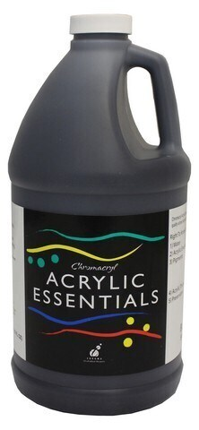 Essentials Acrylic 2L Bottles Black