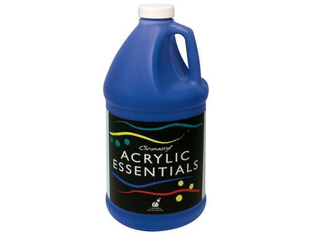 Essentials Acrylic 2L Bottles Warm Blue