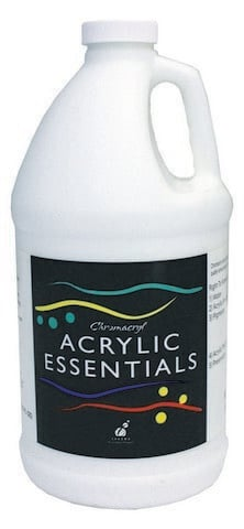 Essentials Acrylic 2L Bottles White