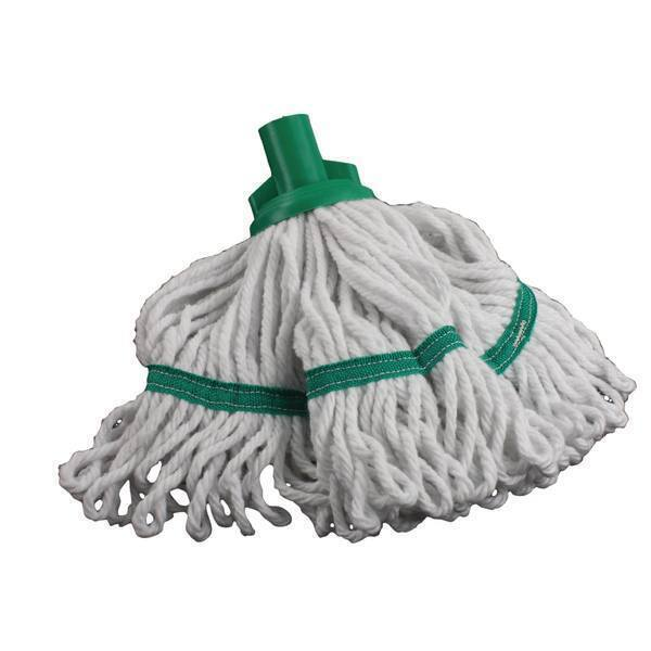 Hygiene Socket Mop Head 200g Green