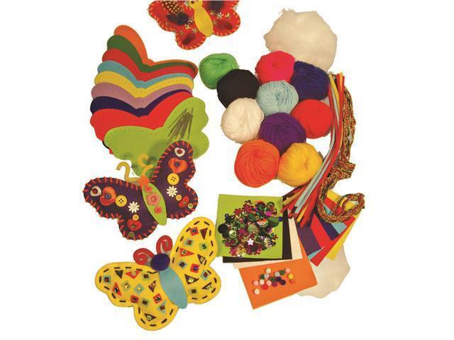Felt Butterflies Kit