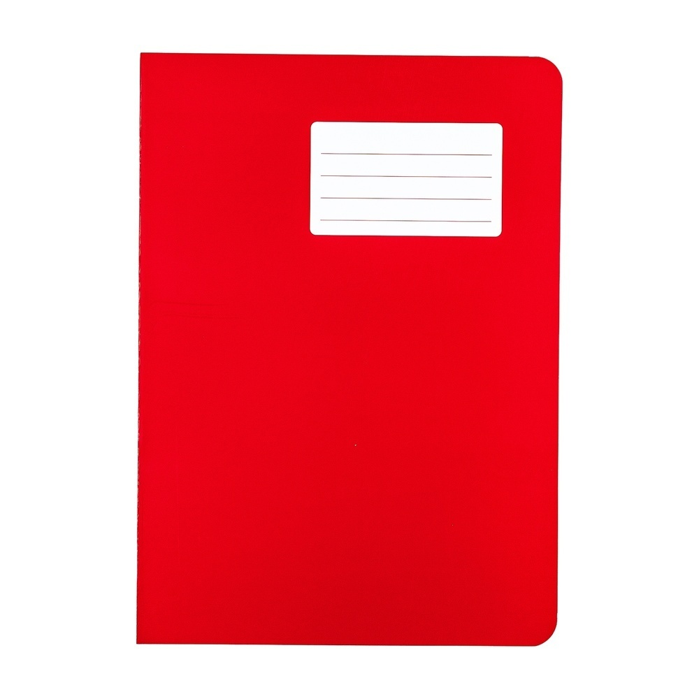 Durabook Exercise Books A4 64 Page 8mm F&M Red