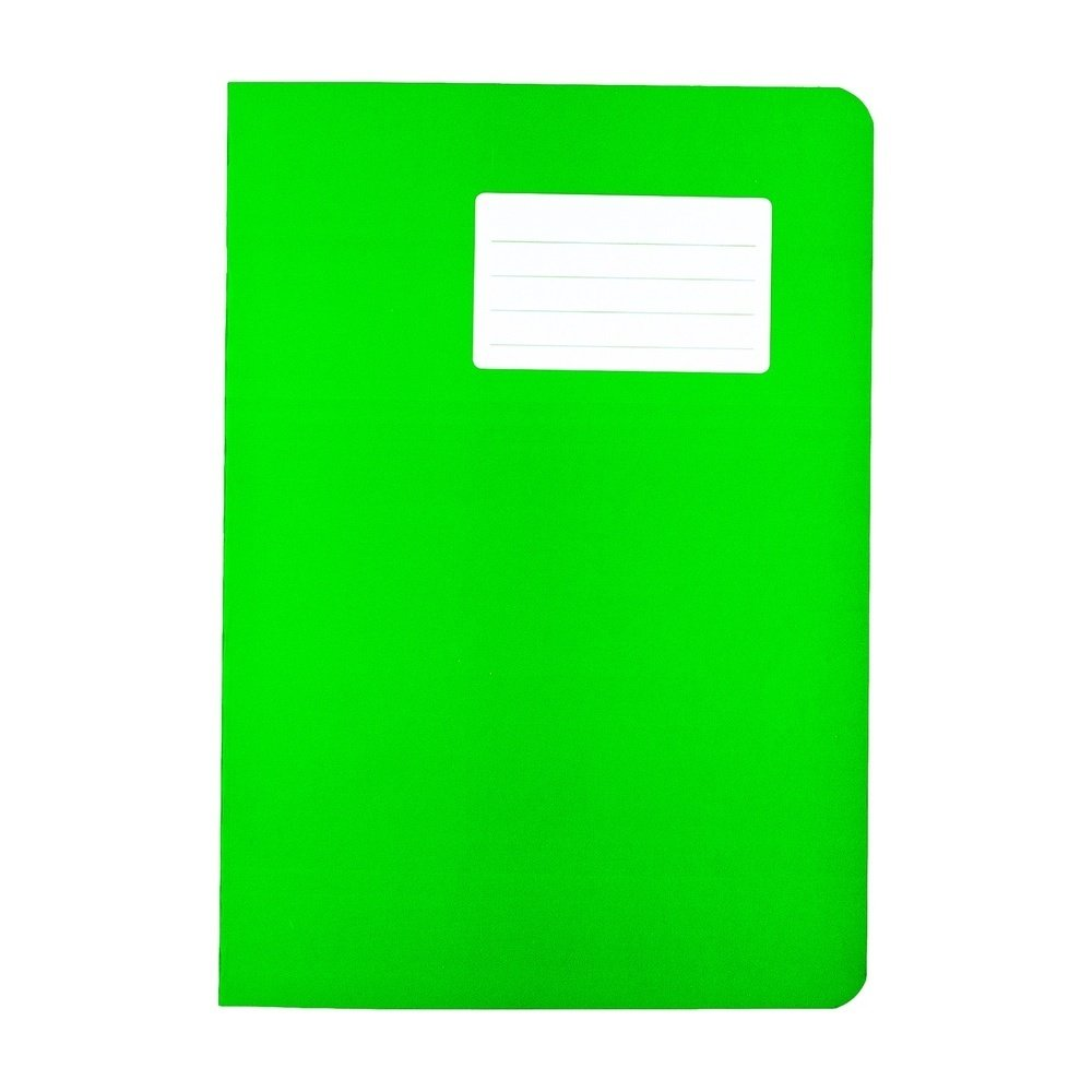 Durabook Exercise Books A4 80 Page 8mm F&M Light Green