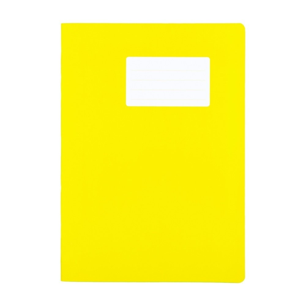 Durabook Exercise Books A4 80 Page 8mm F&M Yellow