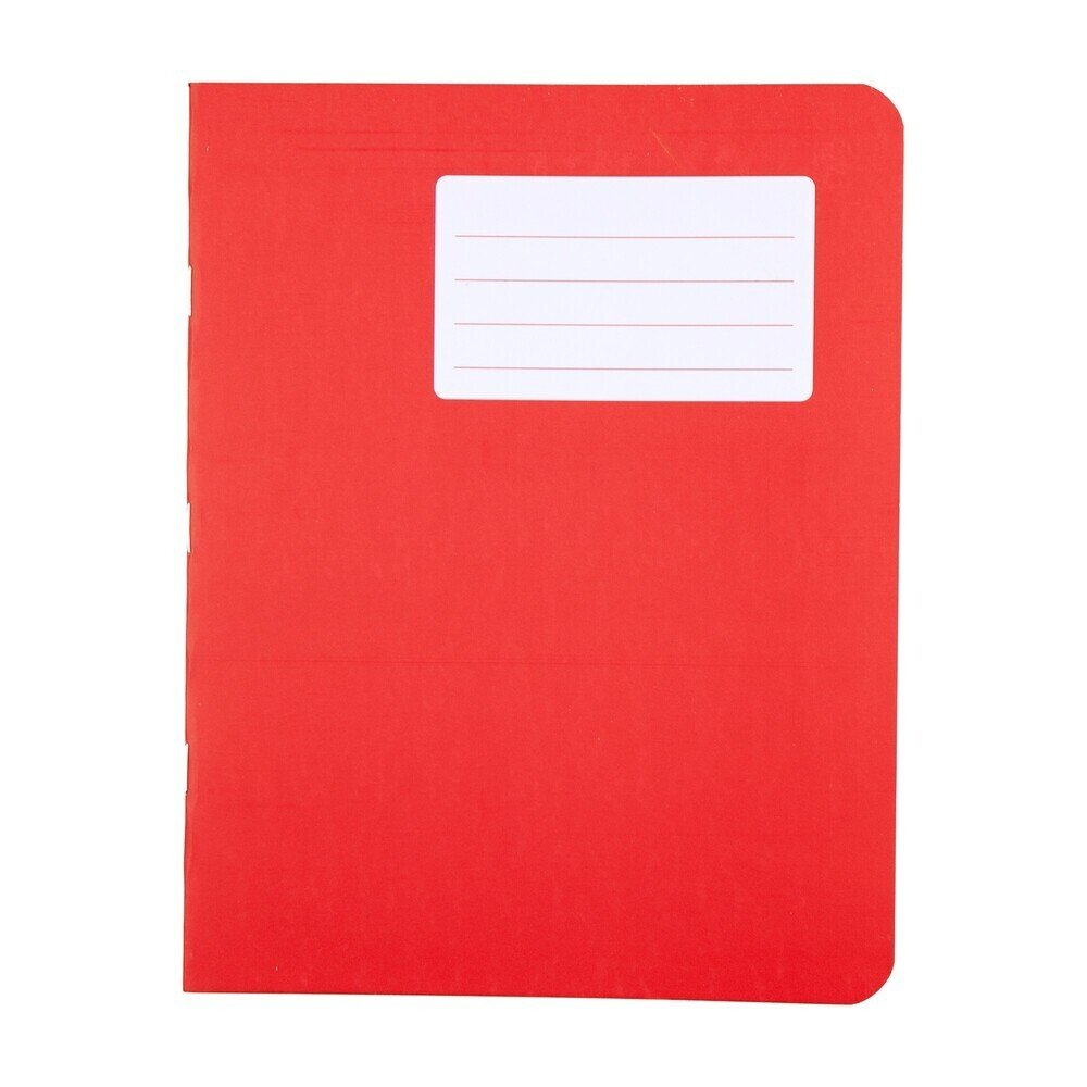 Durabook Exercise Books 9 X 7 80 Page 8mm F&M Red