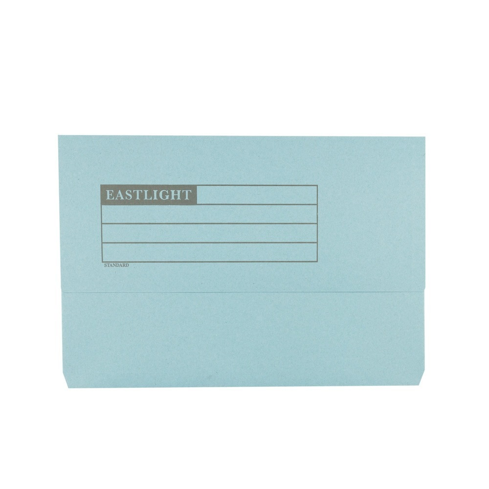 Document Wallets Blue