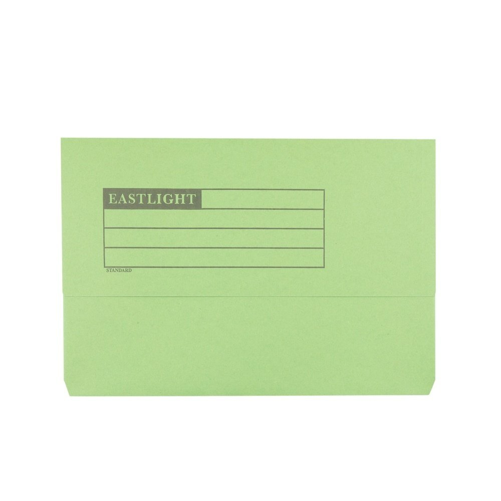 Document Wallets Green
