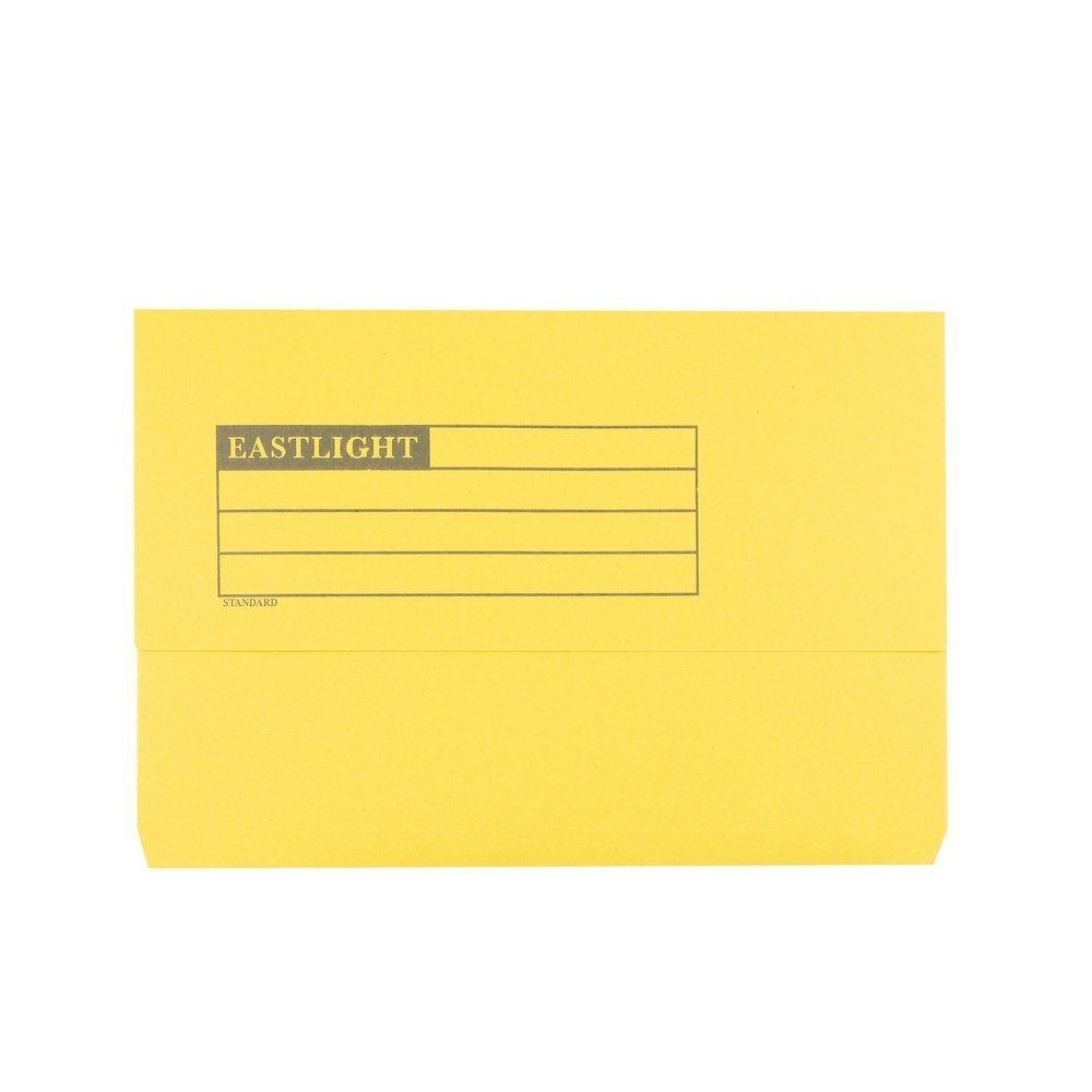 Document Wallets Yellow