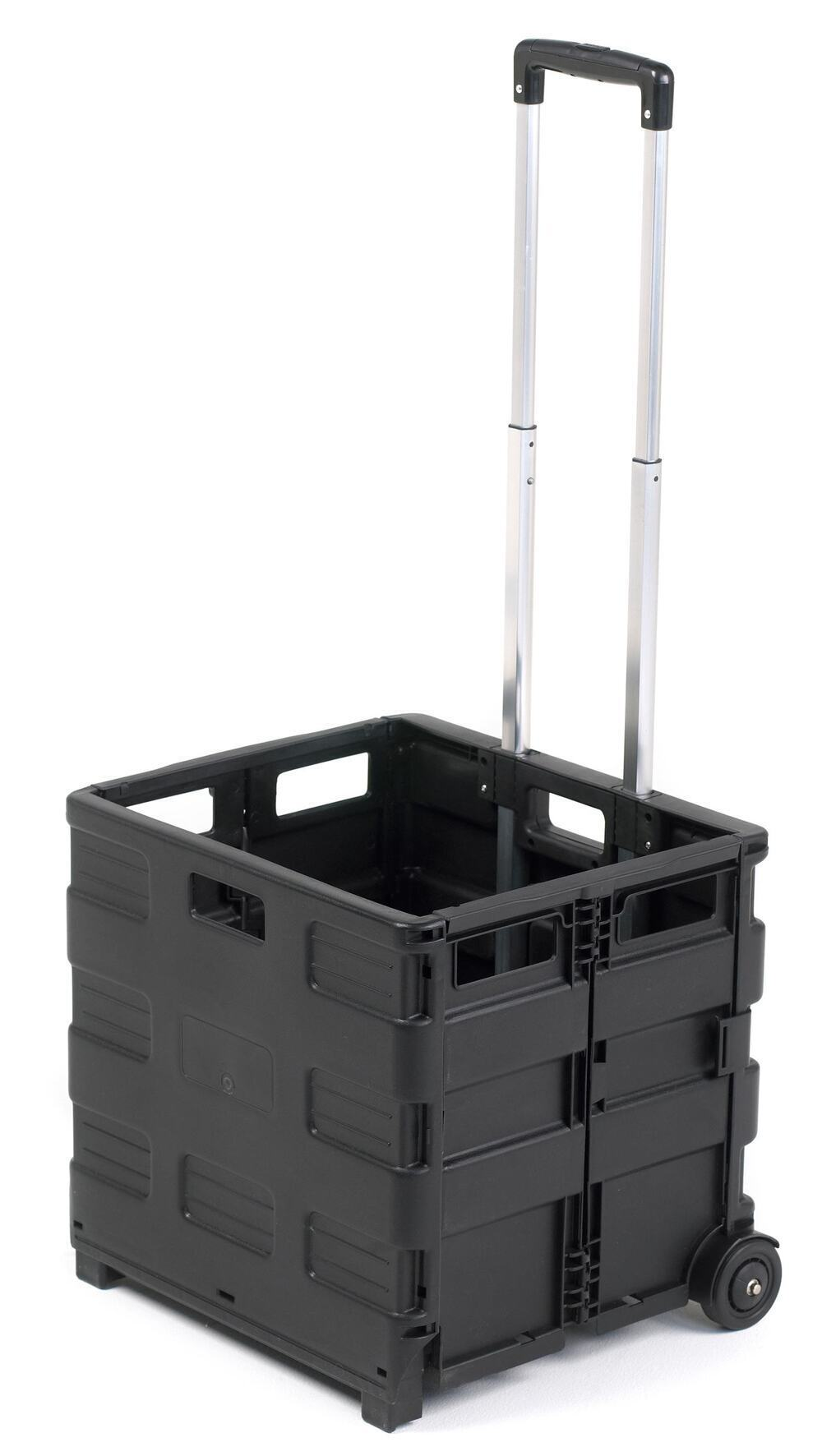Folding Box Truck 990 X 460 X 390mm Black